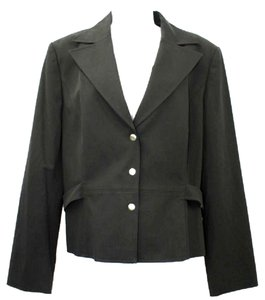 Talbots Stretch Black Jacket Blazer