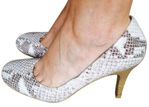 Nine West Snake Skin Print Pumps