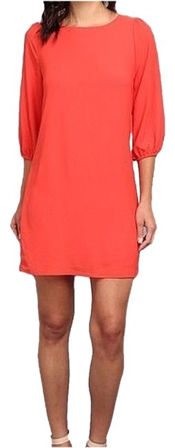 Item - Red/Coral Cocktail Dress Size 4 (S)
