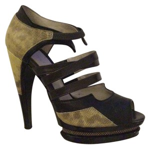 Jason Wu Yellow/Black Platforms
