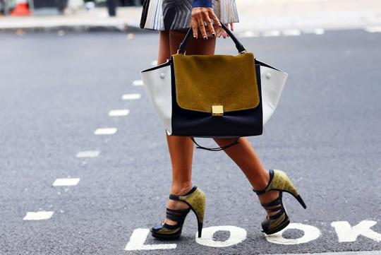 Jason Wu Yellow/Black Platforms Image 1