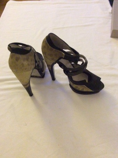 Jason Wu Yellow/Black Platforms Image 3
