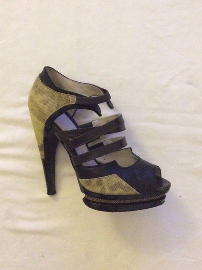 Jason Wu Yellow/Black Platforms Image 5