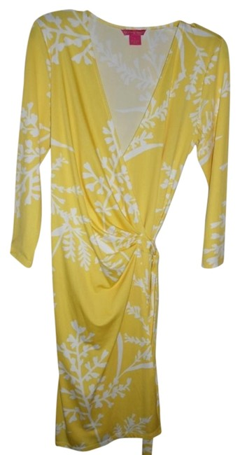 Sunny Leigh short dress Yellow and white on Tradesy Image 1