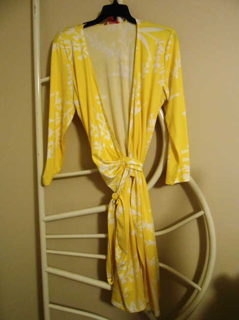 Sunny Leigh short dress Yellow and white on Tradesy Image 7