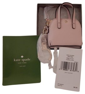 """Kate Spade NWT Kate Spade """"Things We Love"""" MINI MAISE KEY FOB Rosy Dawn Pink in Gift Box"""