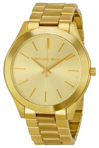Michael Kors Michael Kors Gold Dial Gold Tone Ladies Watch