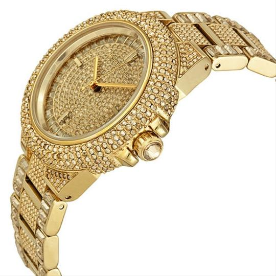 Michael Kors Michael Kors Swarovski Crystal Encrusted Gold Ion-plated Ladies Watch
