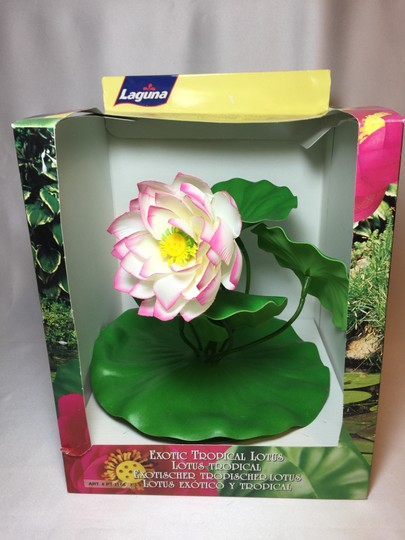 "Other Lotus Pool / Water Garden Float; 100% Silk by Laguna (Large: 11""H x 9.5""W) [ Roxanne Anjou Closet ]"