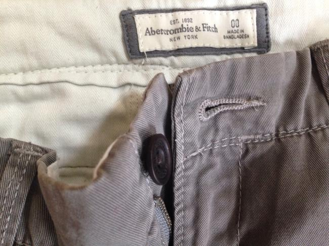 Abercrombie & Fitch Straight Pants Grey Image 1