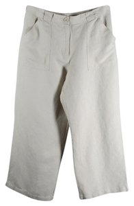 Croft & Barrow Wide Leg Pants Tan