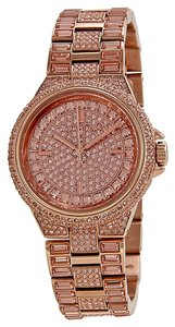 Michael Kors Michael Kors Rose Gold Crystal Pave Rose Gold-tone Ladies Watch