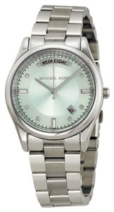 Michael Kors Michael Kors Blue Dial Silver Tone Stainless Steel Ladies Watch