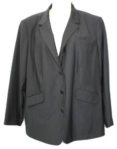 Kate Hill Woman Black Plus Size Jacket Blazer