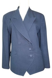 Dior Christian Navy Blue Jacket Blazer