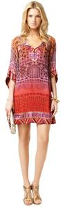 Diane von Furstenberg short dress Silk Shift Boho on Tradesy