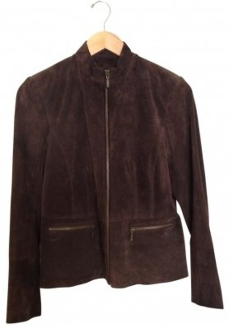 Preload https://item3.tradesy.com/images/alfani-brown-suede-leather-jacket-size-10-m-38707-0-0.jpg?width=400&height=650