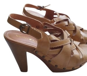 Fashion Bug beige Sandals