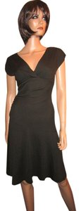 Diane von Furstenberg Mula 100% Wool Empire Dress
