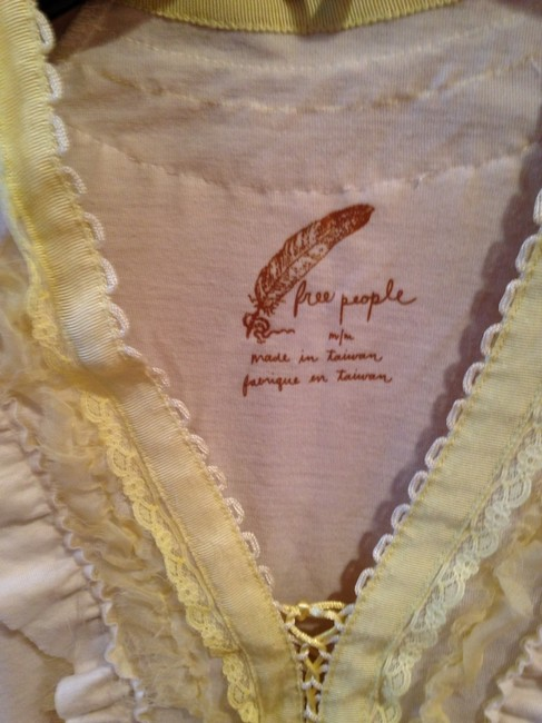 Free People T Shirt Off-white