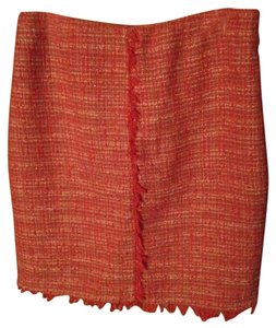 New York & Company Tweed Pencil Skirt Pink