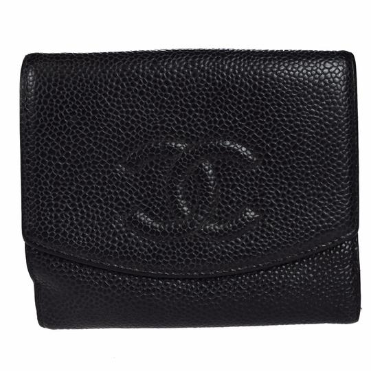 Chanel Chanel cc caviar leather Organizer Wallet Image 1