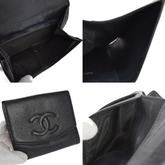 Chanel Chanel cc caviar leather Organizer Wallet