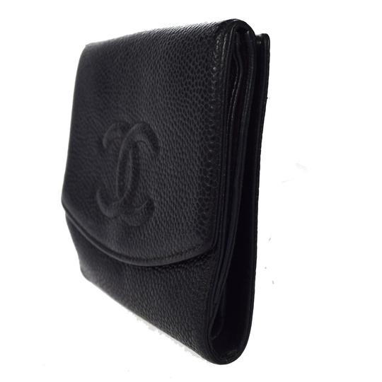 Chanel Chanel cc caviar leather Organizer Wallet Image 7