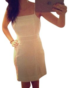 Juicy Couture short dress White Linen on Tradesy