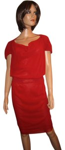 Jean-Paul Gaultier short dress Red on Tradesy