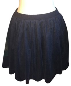 Pins and Needles Tulle Casual Formal Winter Mini Skirt Black
