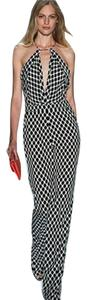 Diane von Furstenberg Silk Keyhole Cut-out Halter Dress