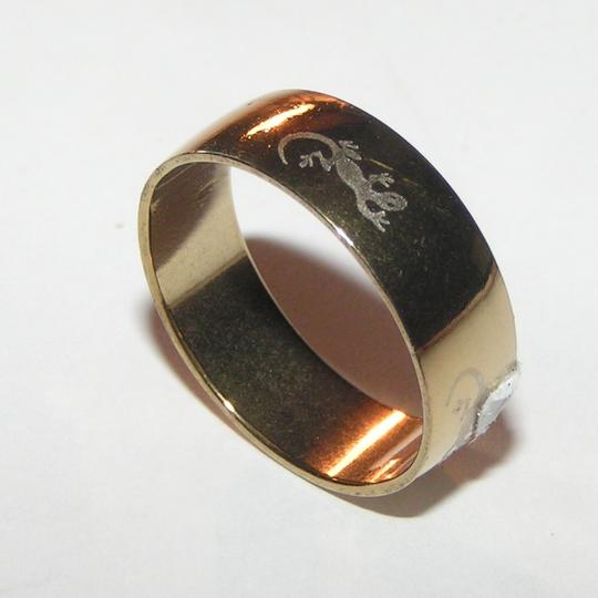 Other Gold plated stainless steel wide band ring free shipping
