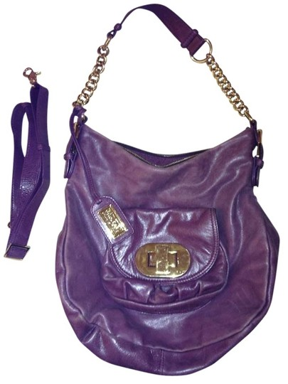 Preload https://item4.tradesy.com/images/badgley-mischka-purple-crossbody-plum-leather-shoulder-bag-387228-0-0.jpg?width=440&height=440