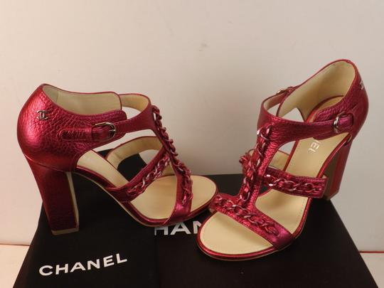 Chanel Dark Pink Pumps