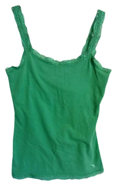 Preload https://img-static.tradesy.com/item/387258/abercrombie-and-fitch-green-tank-topcami-size-8-m-0-0-650-650.jpg