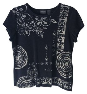 Chico's Chico Additions T Shirt Black