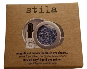 Stila Stila Magnificent Metals Foil Finish Eye Shadow Metallic Cobalt dark denim blue sheen