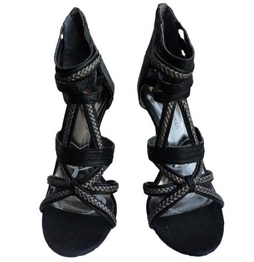 Promiscuous Black Sandals
