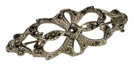 Preload https://item3.tradesy.com/images/silver-color-vintage-brooch-pin-charm-3873727-0-0.jpg?width=440&height=440
