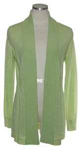 Talbots Long Sleeve Open Front Knit Cardigan