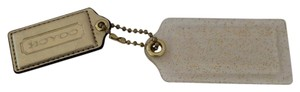Coach COACH POPPY GLITTER HANG TAG FOB KEY CHAIN
