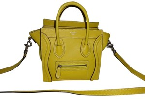 Céline Yellow Messenger Bag