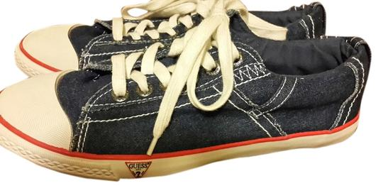 Guess Denim Sneakers Blue Athletic