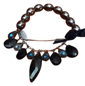 Coldwater Creek Black Sparkle Bracelet