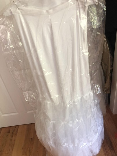 Maggie Sottero Ivory Lace Fit and Flare Beauty Formal Wedding Dress Size 8 (M) Image 7