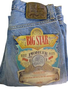 Big Star Jeans Denim Jeans Straight Pants blue
