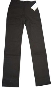 French Laundry Straight Pants Black