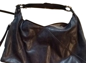 Hobo International Vintage Leather Vintage Leather Silver Hardware Classic Internarional Sleek Soft Leather Hobo Bag