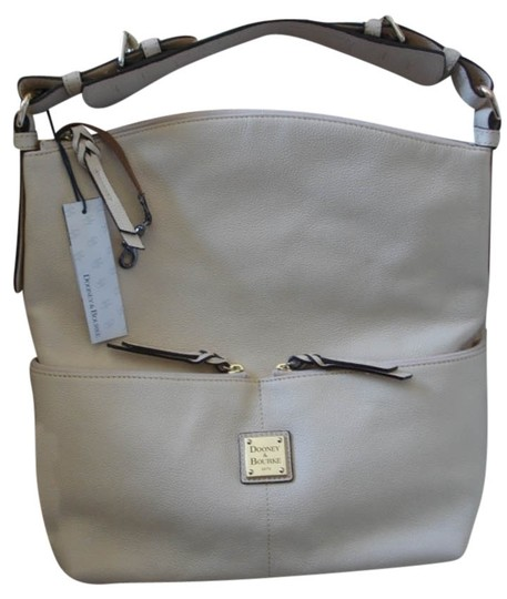 Preload https://item3.tradesy.com/images/dooney-and-bourke-pebble-grain-zipper-pocket-hobo-ivory-leather-satchel-3876052-0-0.jpg?width=440&height=440